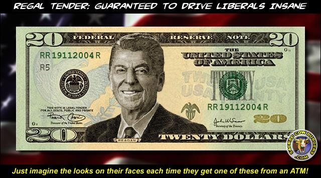 C. has introduced legislation to put Ronald Reagan on a 50 dollar bill.